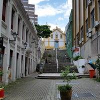 Photo taken at Rua Vidal Ramos by Raphael C. on 1/15/2016