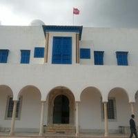 Photo taken at Palais Ennejma Ezzahra (Dar El-Baron d'Erlanger) by Sana S. on 1/27/2013