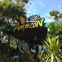 Photo taken at Café Amazon by Nutty on 1/6/2013
