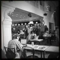 Photo taken at Vooruit Café by vooruit on 8/4/2014