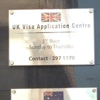 Photo taken at UK Visa Application Centre by Elegant on 11/17/2013