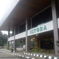 Photo taken at Istora Gelora Bung Karno (Istora Senayan) by Sri P. on 7/6/2013