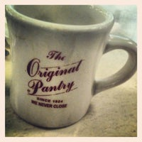 Photo taken at The Original Pantry by B. Tyler M. on 9/22/2012