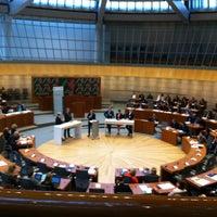 Das Foto wurde bei Landtag Nordrhein-Westfalen von Michael S. am 5/17/2013 aufgenommen