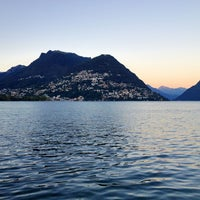 Foto scattata a Lago di Lugano da Nuha .. il 8/20/2013