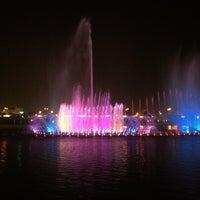 Photo taken at King Abdullah Park by Nuha .. on 10/5/2013