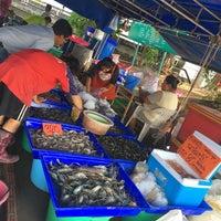 Photo taken at Sattahip Market by Maythinee S. on 4/8/2016