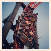 Photo taken at Parque de Atracciones de Madrid by Marian C. on 9/22/2012