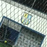 Photo taken at CJU Soccer 5 by Pancho C. on 9/10/2013