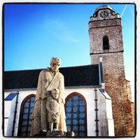 Photo taken at Oude Kerk by Jeffrey d. on 10/6/2012