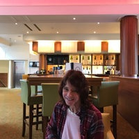 Photo taken at Tudor Park Marriott Bar by Carol P. on 3/31/2017