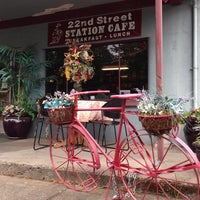 Photo taken at 22nd Street Station Café by Jen R. on 5/18/2013