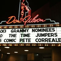 Photo taken at Don Gibson Theatre by Jennipher H. on 2/11/2013