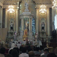 Photo taken at Basílica Colegiata de Nuestra Señora de Guanajuato by Antonio M. on 4/7/2013