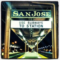 Photo taken at San Jose Diridon Station by Timothy R. on 10/19/2012