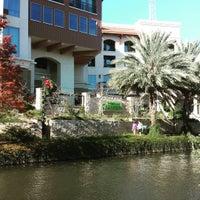 Photo Taken At Wyndham Garden Riverwalk Hotel By The San Antonio R. On 12/