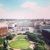 Снимок сделан в Исаакиевская площадь пользователем Алинка А. 7/2/2013