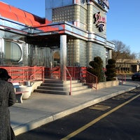 Photo taken at The Americana Diner by Daniel W. on 3/22/2013