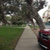 Photo taken at Parque de California by Miguel B. on 8/19/2013