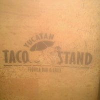 Photo taken at Yucatan Taco Stand by Angelo A. on 1/21/2013