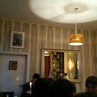 Photo taken at Goldmund Literaturcafe by Renaade on 9/3/2015