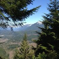 Photo taken at Cedar Butte Summit by Christine on 3/30/2013