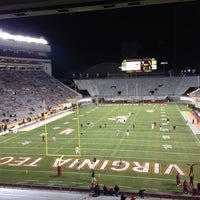 Photo taken at Lane Stadium/Worsham Field by Jobin M. on 11/8/2012