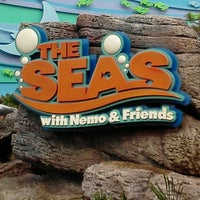 Photo taken at The Seas with Nemo & Friends by Debra C. on 11/6/2012