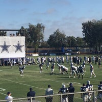 Photo taken at Dallas Cowboys Training Camp by Tim H. on 8/11/2016