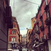 Photo taken at Via dei Mille by Antonio P. on 4/5/2013