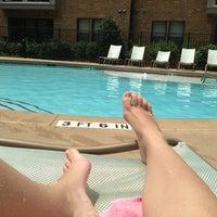 Photo taken at Pool @ Enso by Katherine H. on 8/6/2013