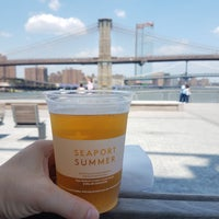 Photo taken at The Heineken River Lounge at Pier 17 by Kate F. on 7/14/2018