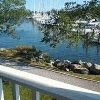 Photo taken at Mystic Yachting Center by Bernie G. on 9/22/2012