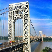 Photo taken at George Washington Bridge by Sasha S. on 6/27/2013