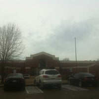 Photo taken at Houston High School by Austen O. on 3/18/2013