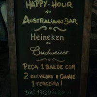 Photo taken at Australiano Bar by André E. on 11/4/2012