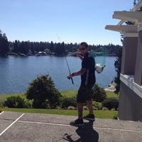 Photo taken at Steilacoom Lake by Jason S. on 7/22/2013