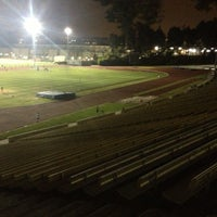 Photo taken at UCLA Drake Track & Field Stadium by ONTAY J. on 4/25/2013