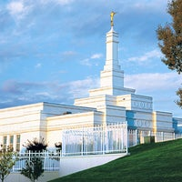 Photo taken at Bismarck North Dakota Temple by Randall D. on 7/28/2014