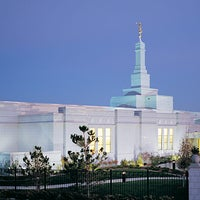 Photo taken at Reno Nevada Temple by Randall D. on 7/28/2014