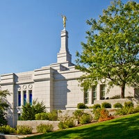 Photo taken at Winter Quarters Nebraska Temple by Randall D. on 7/28/2014