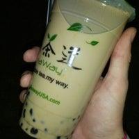 Photo taken at TeaWay 一茶道 by Albert F. on 10/10/2012