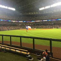 Photo taken at Minute Maid by Matthew S. on 9/5/2015