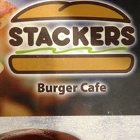 Photo taken at Stackers Burger Café by @L3x P. on 7/12/2013