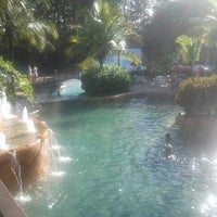 Photo taken at Lagoa Quente by Juliana d. on 2/13/2013