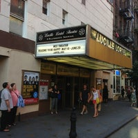 Photo taken at Lucille Lortel Theatre by Christopher C. on 6/10/2013