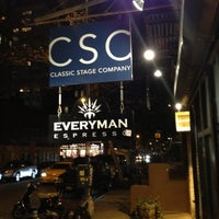 Photo taken at Classic Stage Company by Christopher C. on 11/25/2012