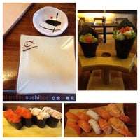 Photo taken at Standing Sushi Bar by Adrina N. on 10/12/2014