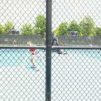 Photo taken at Atkins Tennis Center by Nicholas S. on 5/19/2013
