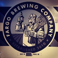 Photo taken at The Fargo Brewing Company by John K. on 1/19/2014